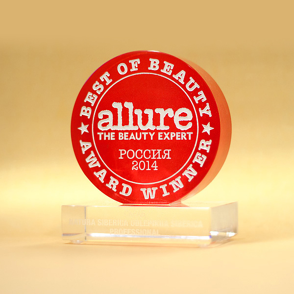 Allure Best of Beauty Award 2014 (Россия)