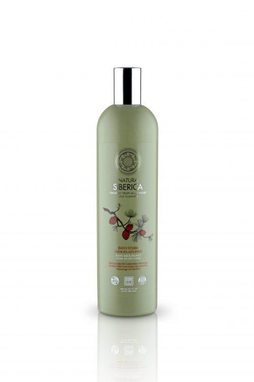 Bath Foam Cedar Spa Anti-Stress – Natura Siberica