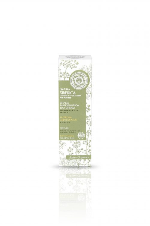 Aralia Mandshurica Day Face Cream for dry skin – Natura Siberica
