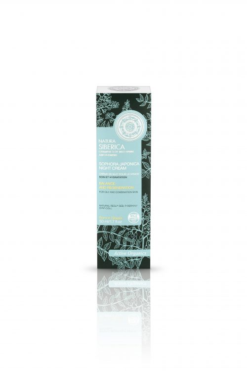 Sophora Japonica Night Cream – Natura Siberica