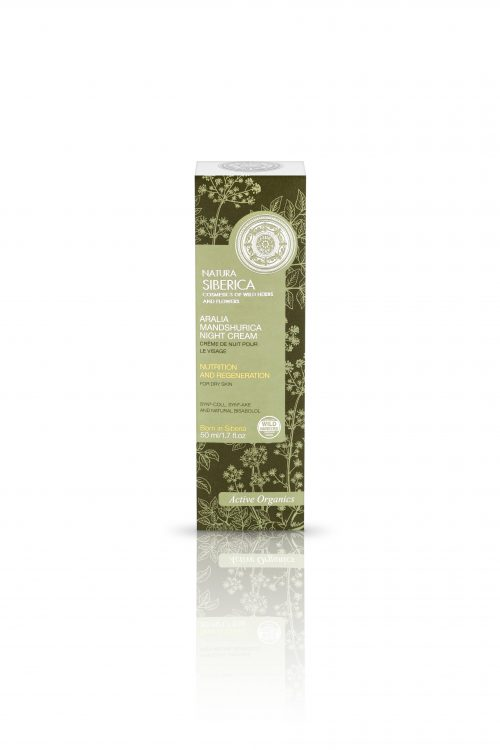 Aralia Mandshurica Night Cream for dry skin – Natura Siberica