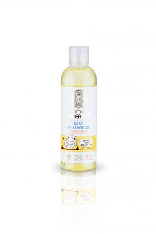 Baby massage oil 0+ – Natura Siberica