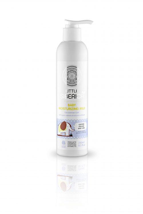 Baby moisturizing milk 0+ – Natura Siberica