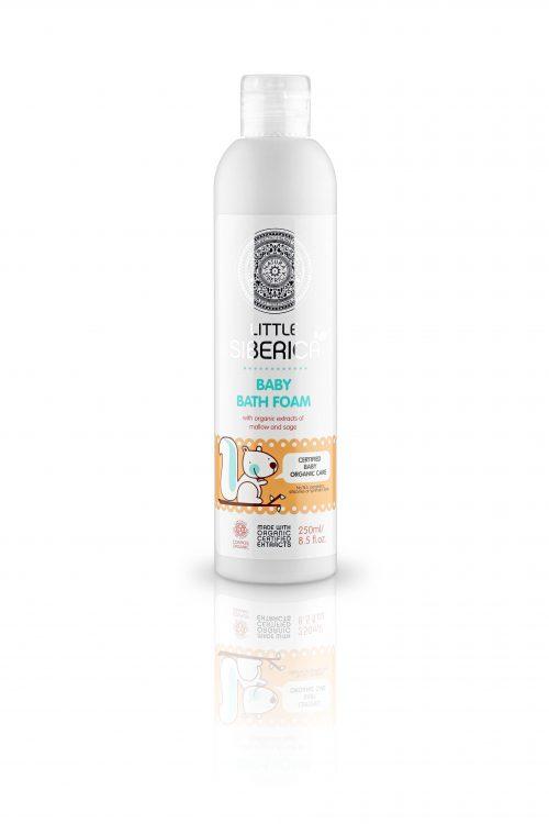 Baby bath foam 1+ – Natura Siberica