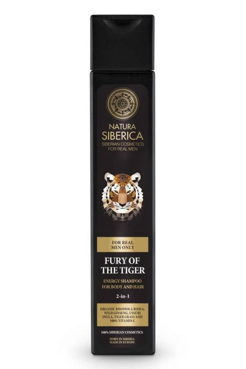 ENERGY SHAMPOO FOR BODY AND HAIR FURY OF THE TIGER – Natura Siberica