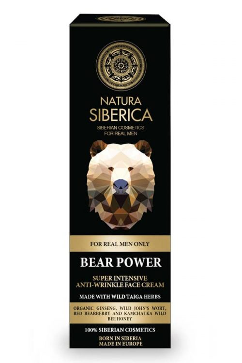 SUPER INTENSIVE ANTI-WRINKLE FACE CREAM BEAR POWER – Natura Siberica