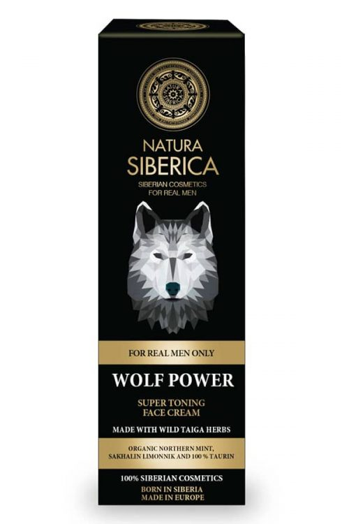 SUPER TONING FACE CREAM WOLF POWER – Natura Siberica