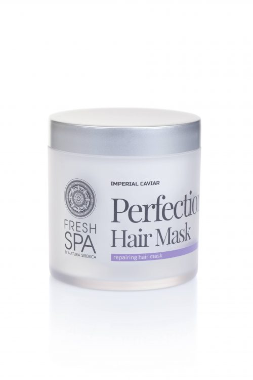 Fresh Spa Imperial Caviar repairing hair mask Perfection — Natura Siberica