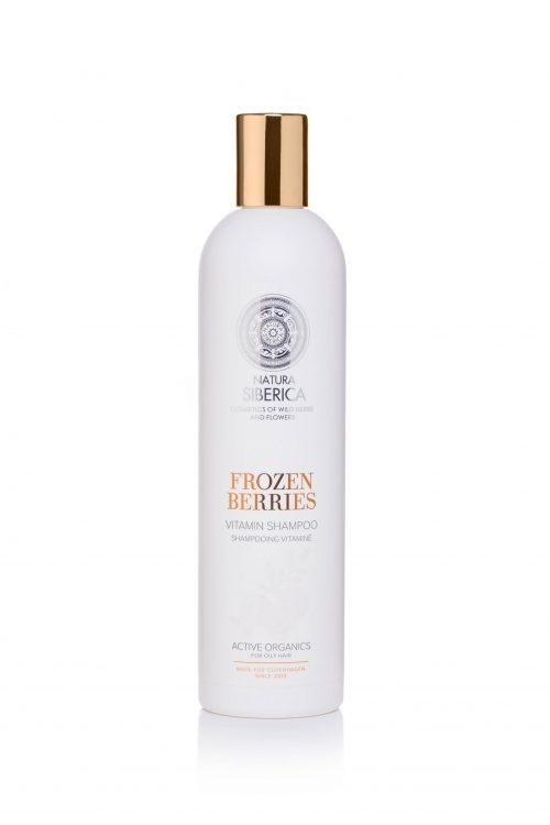 Frozen Berries vitamin shampoo – Natura Siberica