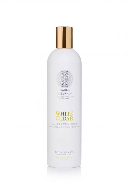 Copenhagen White cedar volume conditioner — Natura Siberica
