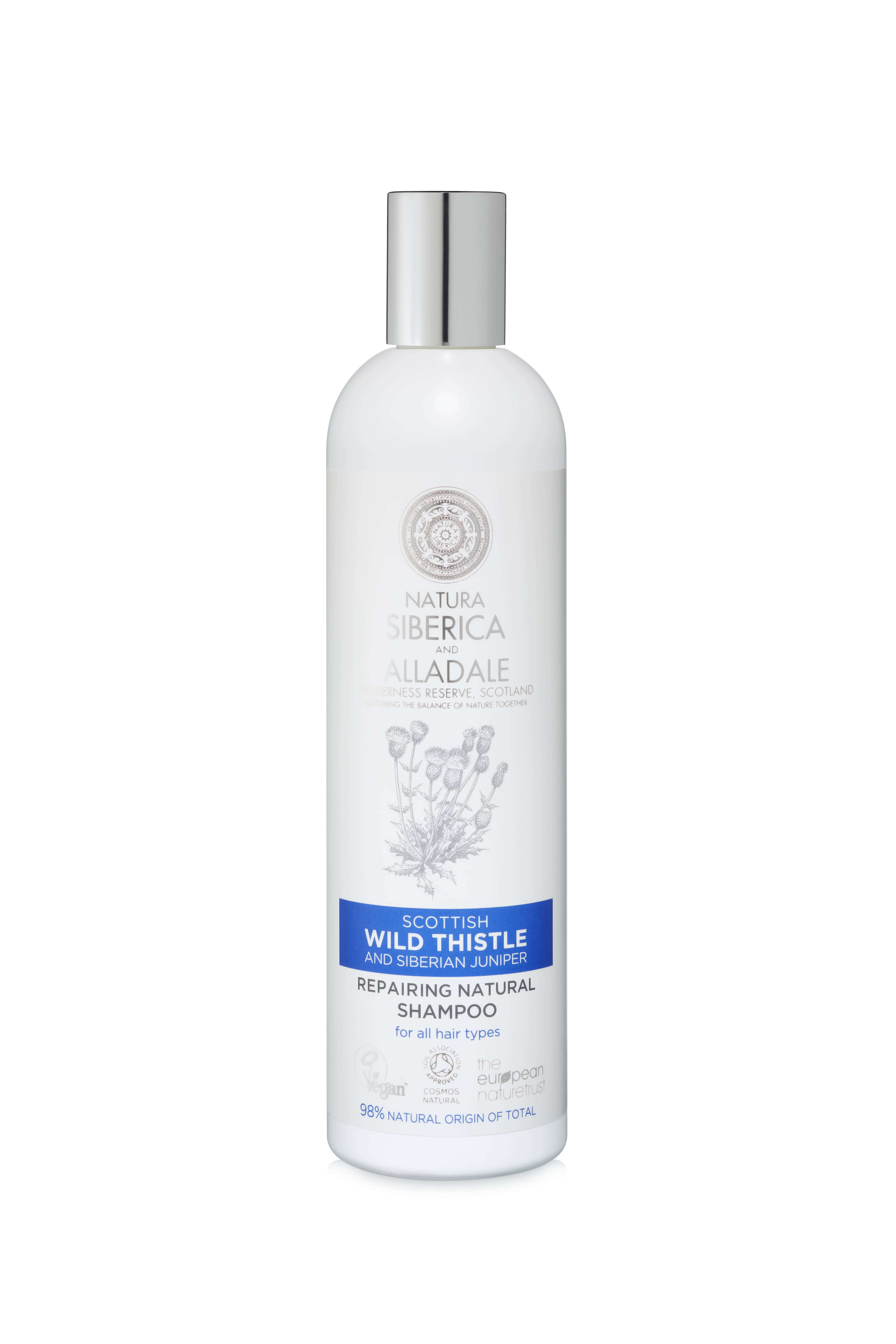 Alladale Repairing Natural Shampoo for All Hair Types