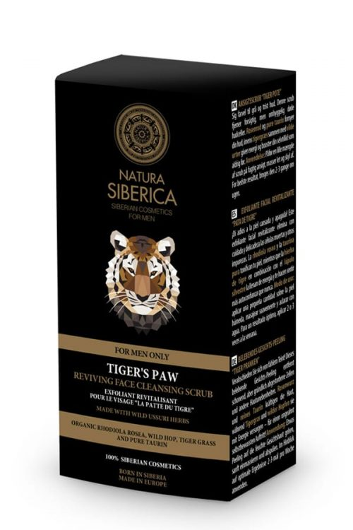 Natura Siberica – Reviving Face Cleansing Scrub Tiger's Paw – 4744183013766