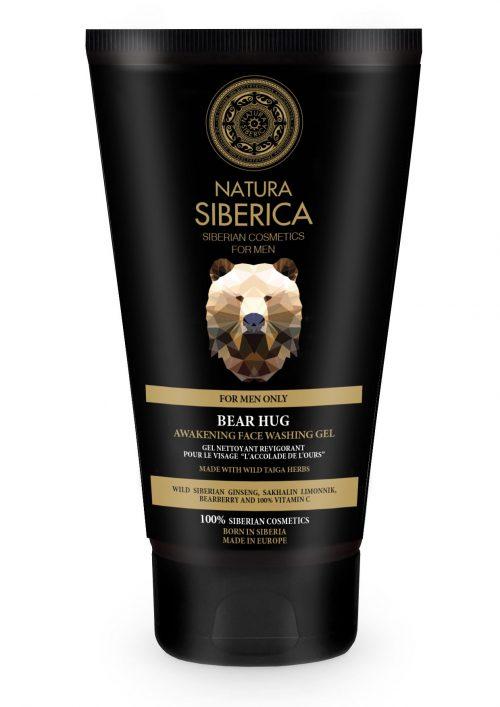 Natura Siberica – Awakening Face Washing Gel Bear Hug – 4744183013773