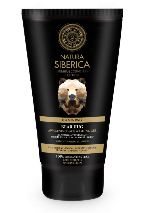 Natura Siberica – Awakening Face Washing Gel Bear Hug – 4744183013773