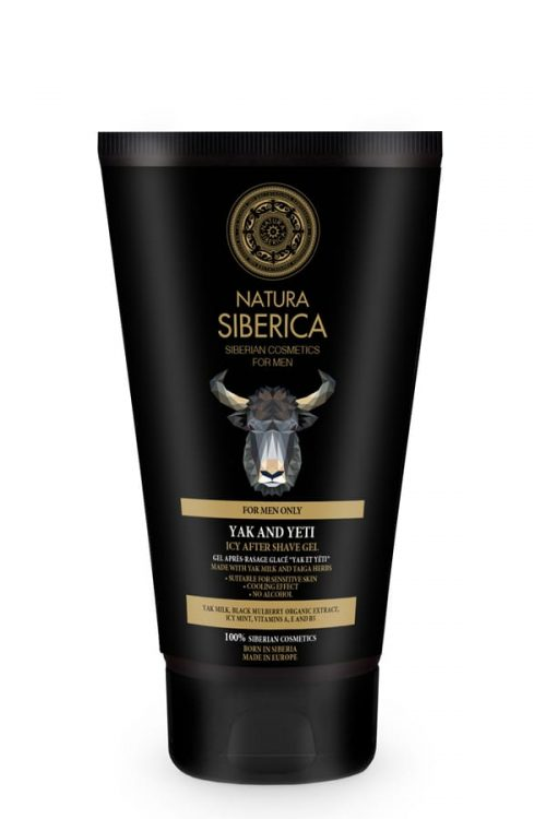 Natura Siberica – Icy After Shave Gel Yal and Yeti – 4744183013780