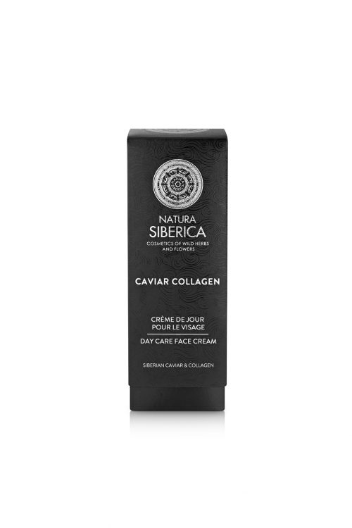 Natura Siberica – Caviar Collagen Day Care Face Cream Against First Signs of Aging – 4744183019683