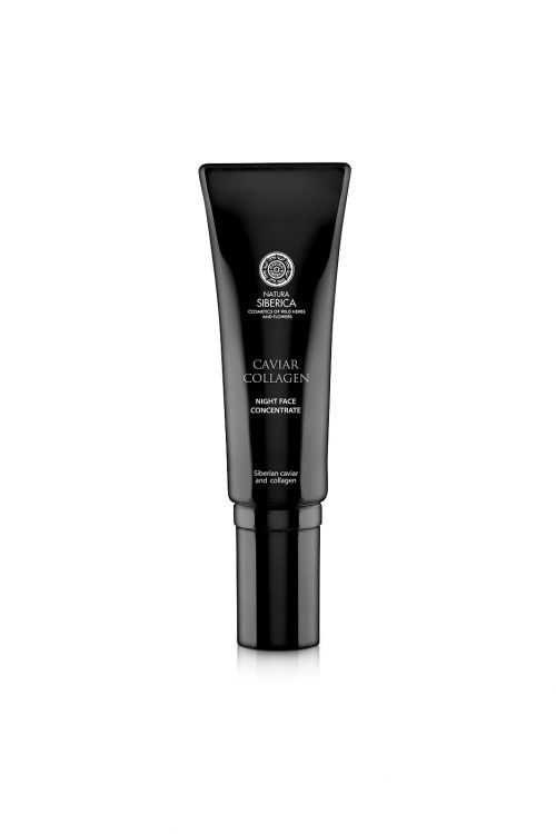 Natura Siberica – Caviar Collagen Night Face Concentrate Against First Signs of Aging – 4744183019690