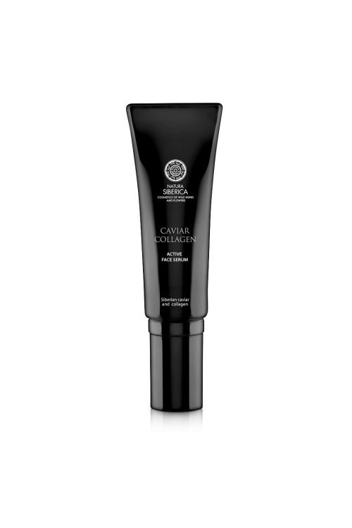 Natura Siberica – Caviar Collagen Active Face Serum Against First Signs of Aging – 4744183019706