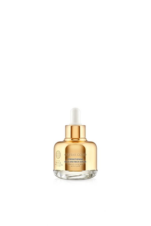Natura Siberica – Caviar Gold Strengthening Face and Neck Serum – 4744183019737