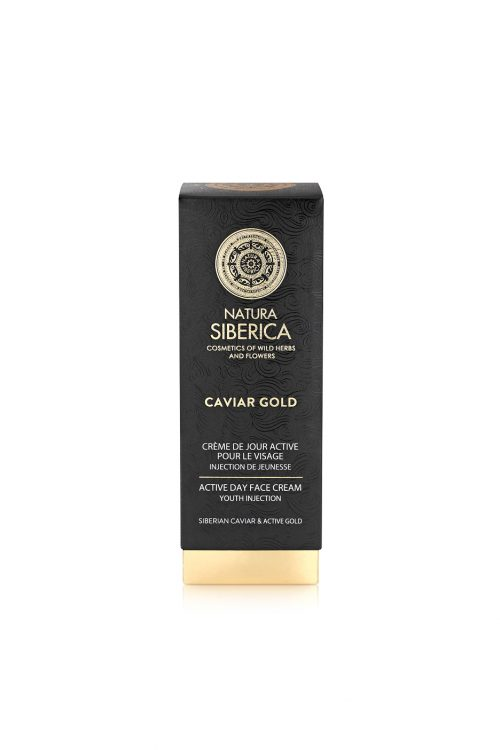 Natura Siberica – Caviar Gold Active Day Face Cream Youth Injection – 4744183019744