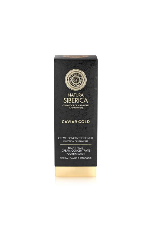 Natura Siberica – Caviar Gold Night Cream-Concentrate Youth Injection – 4744183019751