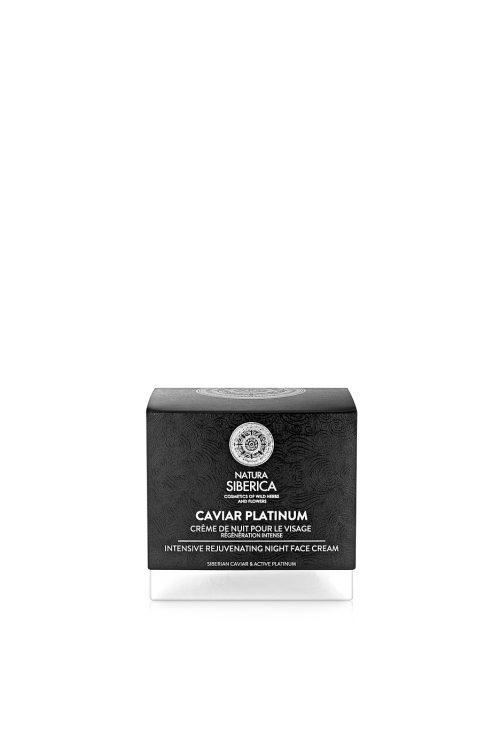 Natura Siberica – Caviar Platinum Intensive Rejuvenating Night Face Cream – 4744183019775
