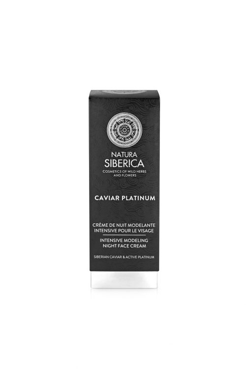 Natura Siberica – Caviar Platinum Intensive Modeling Night Face Cream – 4744183019829