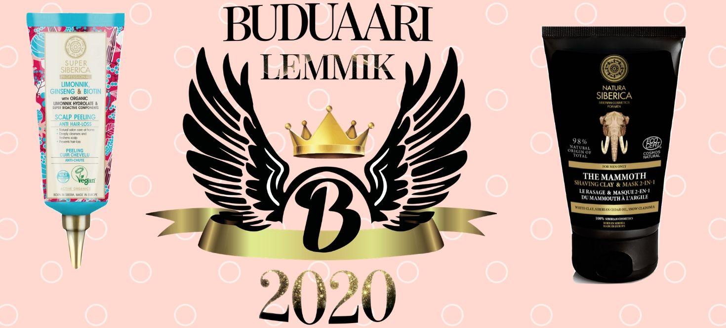 Natura Siberica sai 2 Buduaari preemiat!